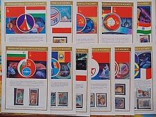 Soviet USSR Post Stamp Space International Project INTERKOSMOS