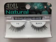 (LOT OF 3) Ardell Natural 116 False Lashes Authentic Ardell Eyelashes Black