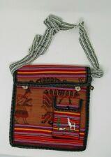 Peruvian Llama Shoulder Bag  -  Colorful!