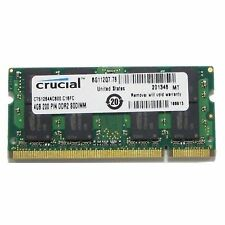 Crucial CT51264AC800 4gb Ddr2 Pc2-6400 Memory Module