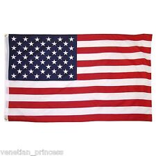 USA SELLER 3' x 5' ft Polyester USA American Flag High Quality Outdoor Indoor