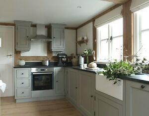 Kitchen Base/Wall Units  Painted Handmade Shaker Solid Wood/MDF IN-STOCK