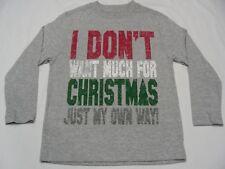 no quiero Much For Christmas Sólo Mi Cuenta Lado ! XS (4/5) Talla Camiseta