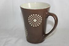 Mug Cup Tasse à café Rayware AKISA Brown White Round Dots