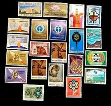 United Nations Geneva, complete  MNH years 1971, 1972, & 1973 20 stamps