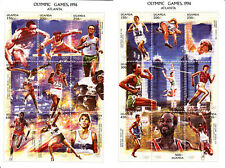 Uganda 1997 Summer Olympic, Atlanta 1996, MNH, perf. 2 S/S