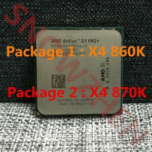 AMD Athlon X4 860K X4 870K CPU Quad-Core 4M Socket FM2+ Processors