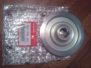 HONDA GENUINE OEM EK9 Civic Integra Type-R N1 CRANK PULLEY LIGHTWEIGHT B Series