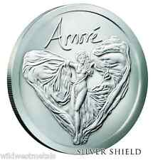 2016 Amore BU Silver Shield 1OZ .999 - *In-Hand* SBSS Art Round - Boxed / COA