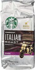 Starbucks ITALIAN Dark Ground Coffee 12 oz.