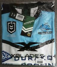 Cronulla Sharks genuine Jersey size medium, brand new with tags in plastic 2019