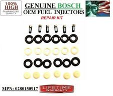 NEW x6 Bosch OEM Fuel Injectors REPAIR KIT for Chevrolet Lumina APV 3.8L V6
