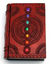 """4"""" x 6"""" Chakra book box Pagan Witchcraft Wiccan Ritual Altar Supply"""