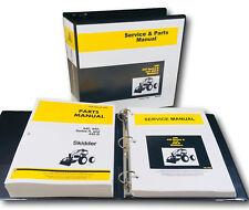 Service Manual Parts Catalog Set For John Deere 440 440a 440b Skidder Overhaul