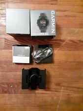 Garmin Forerunner 945, Gps Running Smartwatch with Music (Black) - New (Read)