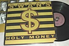SWANS Holy Money VINYL LP promo record 1st US pressing 1986 PVC 8951 album EX/EX