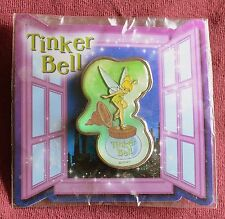Japan Disney TINKER BELL ON INK WELL Pin - Retired Disney Tinkerbell Pins