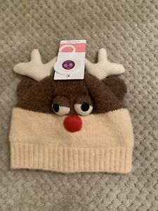 WAITROSE REINDEER HAT, 6-8 years, BRAND NEW WITH TAGS