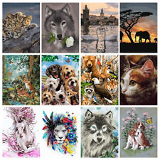 40*50cm Animals DIY Paint By Number Kit Digital Oil Painting Art Home Wall Decor