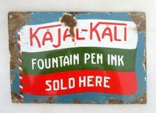 Vintage Vecchio Kajal Kali Fountain Pen Ink Venduti Here Porcellana Smalto IN