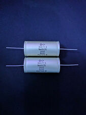1uF 250V MATCHED PAIR OS (OC) Hi-End AUDIO Polystyrene capacitors K71-4 RARE!!!
