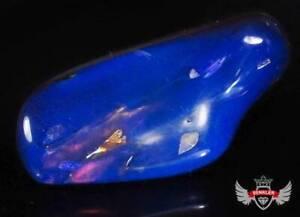 125.64CT. BIG CRETACEOUS BLUE  AMBER ( BURMITE) - BURMA