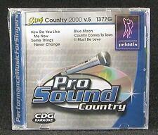 Priddis Pro Sound Sing Country 2000 v.5 1377G Karaoke CD How Do You Like Me Now