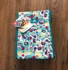 Igloo Insulated Fold Over Top Lunch Box Unicorn Theme NEW