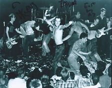 Dead Kennedys Signed Autographed 8x10 Photo by 3 East Bay Ray DH Klaus A