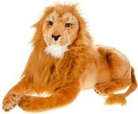 LARGE LION PLUSH SOFT TOY CUDDLY HUGE STUFFED ANIMAL KID TOY BROWN TEDDY BEAR
