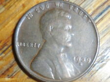 1939-S Lincoln Cent (seller's # 713)Buy more coins Pay one coin shipping fee