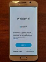 Samsung Galaxy S6 SM-G920V - 64 GB - White Pearl (Verizon) Smartphone BUNDLE