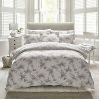Holly Willoughby Fauna Charcoal 100% Cotton Duvet Cover