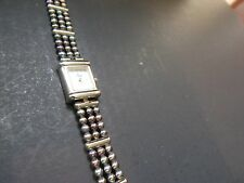 Croton Women's Quartz Watch Mother of Pearl Dial w/3-Strand Pearl Band