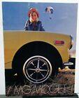 1974 MG Midget Dealer Sales Brochure Features Specifications