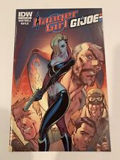 Danger Girl And G.I. Joe Campbell Cover A NM