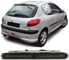 Tercer ahumado LED Lámpara De Luz De Freno Trasero Para Peugeot 206 3 & 5 Hatchback Modelo
