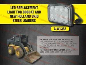 6661353 LED Sealed Beam Flood Light for Bobcat Skid Steer Loaders 553 773 853 +