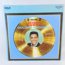 1963 Elvis Presley Elvis' Golden Records  Volume 3   RCA