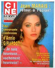 ►CINE REVUE 31/1984-ORNELLA MUTI- ANNIE GIRARDOT- ERROL FLYNN- CLINT EASTWOOD...