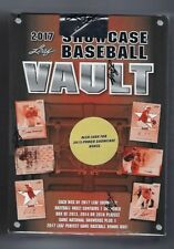 2017 Leaf Showcase Vault Baseball Hobby Box