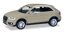 Herpa 034821-004 Audi Q3 Curveesilbermetalic Ho 1:87 New
