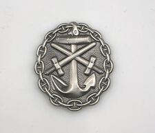 WW I German Naval Wound Badge in Silver Imperial