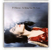 PJ HARVEY - TO BRING YOU MY LOVE LP COVER FRIDGE MAGNET IMAN NEVERA