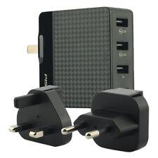 Cargador USB Cargador De Pared PISEN internacional con adaptador de viaje nos Reino Unido de la UE se conecta