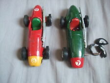 TWO VERY OLD SCALEXTRIC CARS.