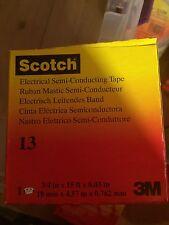 "NEW 3M Scotch 13 Electrical Semi-conducting Tape 3/4"" x 15 ft"