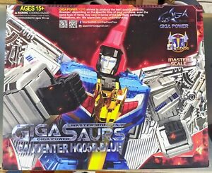 GigaPower Gigasaurs HQ-05R Gaudenter Chrome Version Transformers 3P MP Swoop