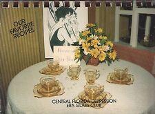 *ALTAMONE SPRINGS FL 1984 CENTRAL FLORIDA DEPRESSION ERA GLASS CLUB COOK BOOK