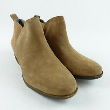 TOMS Women Size 6 Toffee Suede Wool Deia Ankle Booties Shoes